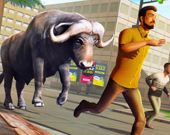 Атака разъяренного быка: Дикая охота