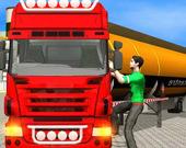 Симулятор грузовика с нефтяной цистерной