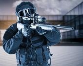 Снайпер спецназа
