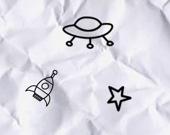 Бумажный космос