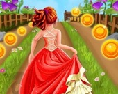 Принцесса бежит по тоннелю