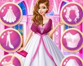 Одень королевскую куклу