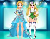 Модный показ Принцессы: весенняя коллекция