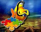 Пазл: Экзотические морские животные