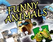 Пазл: Забавные животные