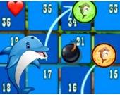 Кубики: Дельфинья гонка