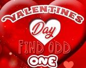 День святого Валентина: Найдите отличие