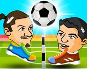 Футбольные головы: 2 игрока