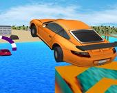 Водный серфинг на автомобиле