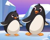 Пингвины пазл