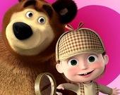 Маша и медведь - Найди отличия
