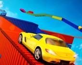Автотрюки на мегарампе 3D