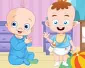Сладкие детишки: игра-головоломка
