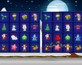 Рождественские настольные головоломки