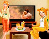 Принцессы: вечерний фильм