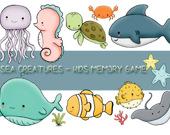 Игра на память: Обитатели моря