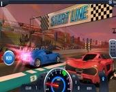 Быстрые и бешенные автомобильные гонки