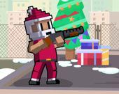 Рождественская битва на крыше