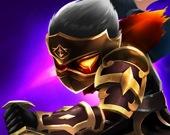Бой Стикмена - Воины тени