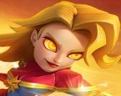 Чудо-женщина супергерой