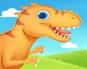 Раскопки Дино: найти скелет динозавра