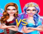 Сказочная принцесса против ведьмы