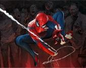 Человек-паук против зомби