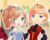 Романтическая королевская пара