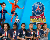 Пари Сен-Жермен футбольный фристайл