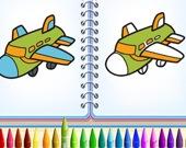 Раскраска: Воздухоплаванье