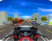 Гоночная суета на мотоциклах