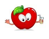 Пазл: Милое яблоко