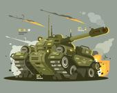 Военные машины. Три в ряд
