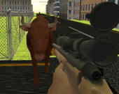 Злой бык: Стрелялка