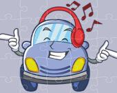 Улыбающиеся автомобили - Пазл