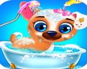 Помой щенка