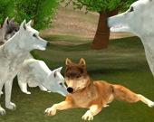 Нападение голодных волков