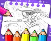 Райя и последний дракон - Раскраска