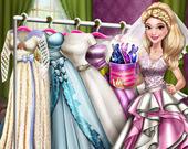 Кукольная свадьба: Переодевание