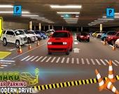 Жесткая Современная Парковка 3D