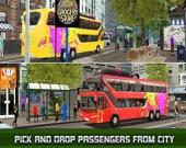 Симулятор автобуса в современном городе 2020