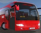 За рулем пассажирского автобуса