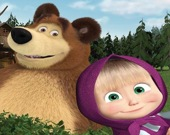 Маша и медведь: Изучение фермы