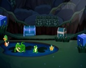Побег черепахи из джунглей