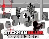 Убийца Стикмен: Лучшие выстрелы из пистолета