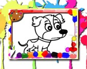 Раскраска: Собаки