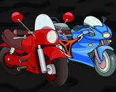 Пазл: Мультипликационные мотоциклы