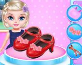 Маленькая принцесса: Дизайн модной обуви
