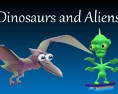 Динозавры и Пришельцы