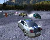 Снеси припаркованные автомобили - Сетевая игра